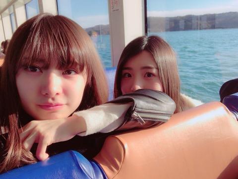 【AKB48】武藤十夢さん、彼女と温泉デートを堪能