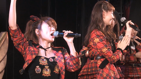 【AKB48】小嶋陽菜「MCに入る時の