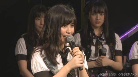 【HKT48】宇井真白卒業発表「女優の道に進みたい」