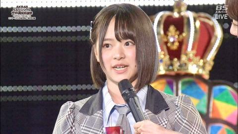 【AKB48総選挙】倉野尾成美が今回順位下げた理由って何?