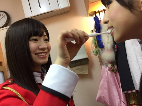 【AKB48】僕も、ゅぃゅぃの歯を磨きたい・・・【小栗有以】