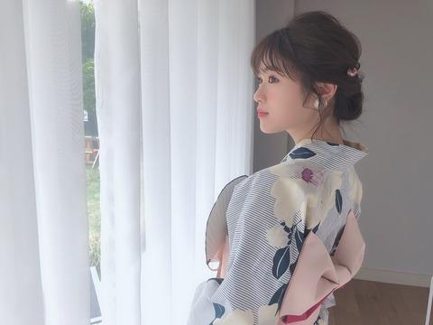 【NMB48】なぎちゃんがエッチな格好でアイスを食べてる【渋谷凪咲】