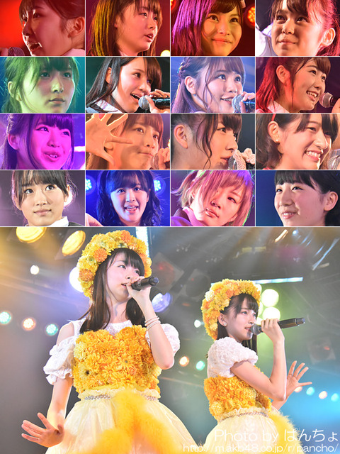 【AKB48】5/18のチームB公演出演メンバーの半分が助っ人と研究生