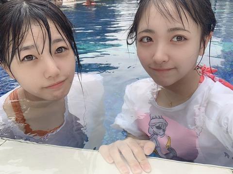 【STU48】瀧野由美子&石田千穂の水着写真キタ━━━(゚∀゚)━━━ !!!!!