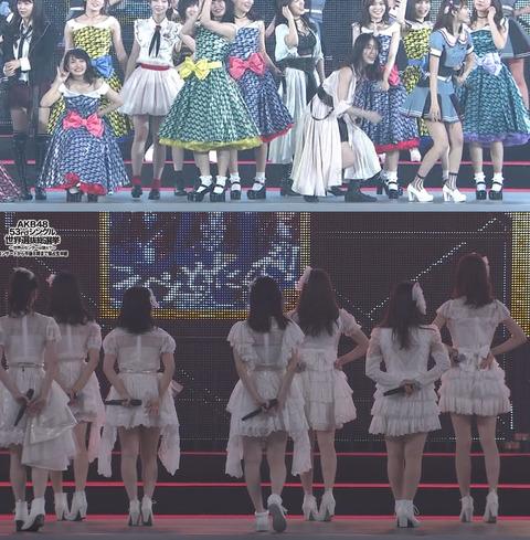【SKE48】驚愕!松井珠理奈さん、自分だけ踊りやすい靴を履いていたwww
