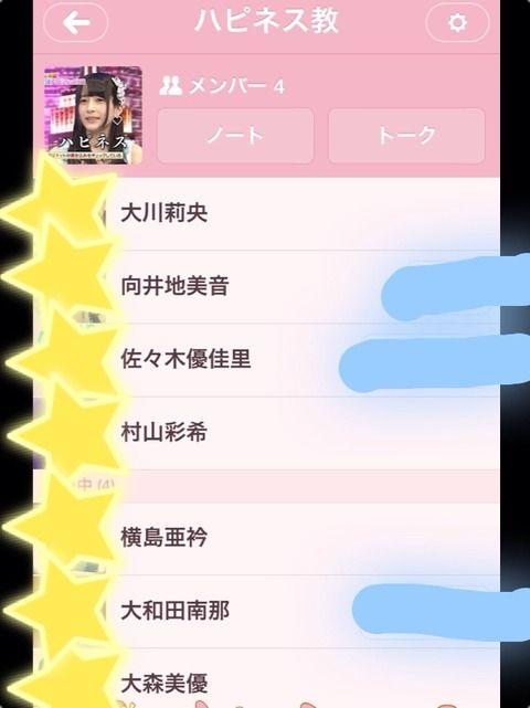 【AKB48】ハピネス教代表 佐々木優佳里が、教団幹部を集めた集会を開催した模様
