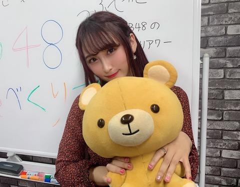 【NMB48】明石奈津子がSHOWROOMで卒業発表