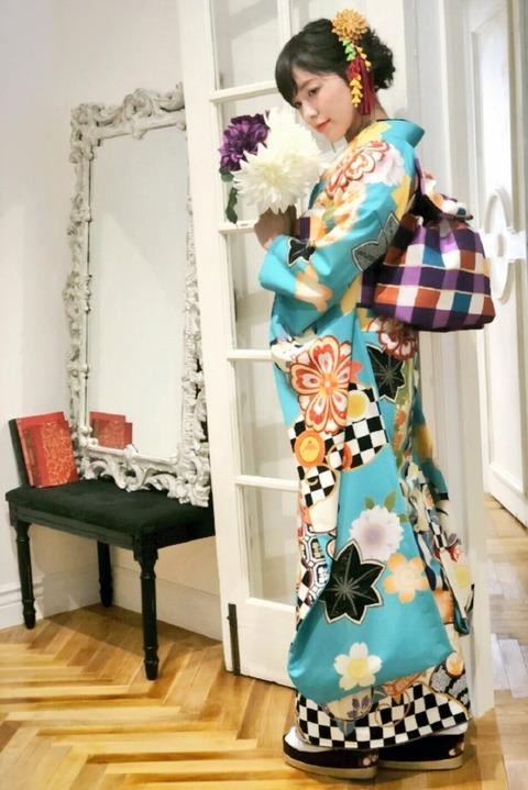 【SKE48】松井珠理奈プロデュースの振袖ブランド「松井珠理奈kimono」が発売決定