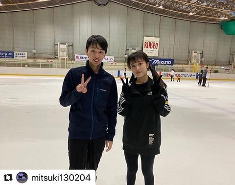 【悲報】NMB48川上千尋とイケメンプロスポーツ選手のツーショットが流出www
