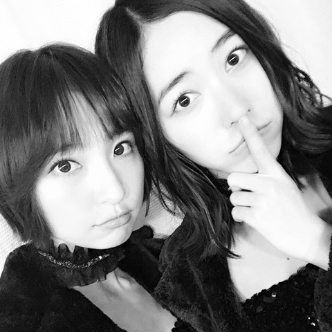 【悲報】篠田麻里子さん、松井珠理奈に忘れられていたwww