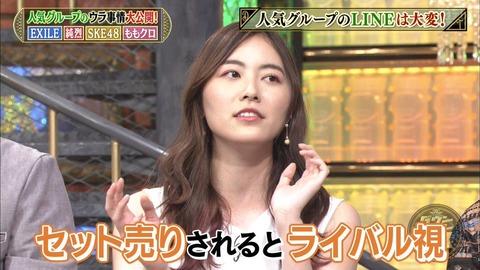 【SKE48】松井珠理奈「松井玲奈って言うライバルだった人がいたんだけど」←ライバル…?