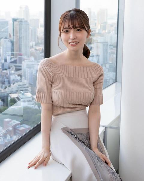 【衝撃】元欅坂46長濱ねる(22歳)の巨乳がヤバイwwwwww