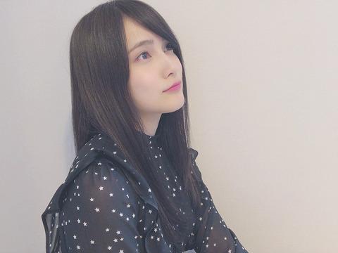 【AKB48】黒髪になった入山杏奈が美しい