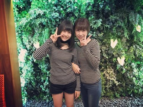 【SKE48】小畑優奈ちゃんのお母さんがそこらへんのメンバーより全然可愛いwww