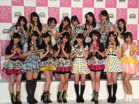 【AKB48総選挙】ネクストガールズに美形がそろっている件