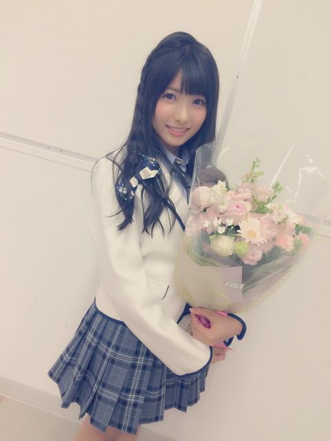 【HKT48】岡田栞奈「オーディションを受けようとしている女の子たちへ」