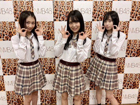 【NMB48】白間美瑠、石塚朱莉、塩月希依音3人のインタビューがウォーカープラスで近日掲載予定!
