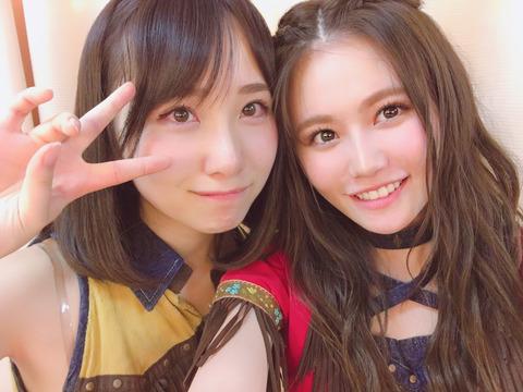 【AKB48】込山榛香「紅白選抜の発表の時一緒に泣いてくれる朱里さんが隣にいることがすごく心強くて、私だけだったら押しつぶされていた」