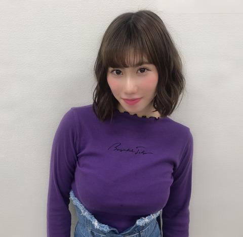 【朗報】NMB48石田優美ちゃん、夢もπもでっかい事をお知らせします