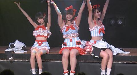 【悲報】新公演のユニットでなーにゃが樋渡結依ちゃんに公開処刑されてる件【AKB48・大和田南那】