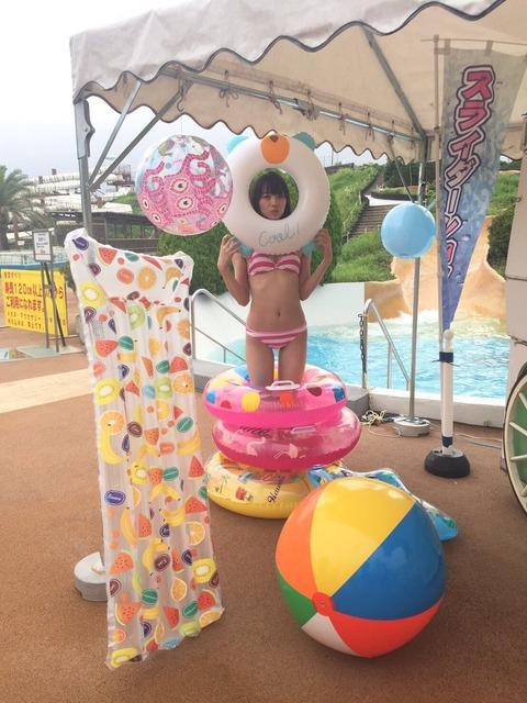 【AKB48】もえきゅんから夏の思い出(水着画像)が届いたよっ!【後藤萌咲】