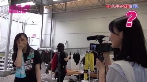 【朗報?】AKB48福岡聖菜ちゃんが松井玲奈に見つかったwwwwww【AKB48SHOW】