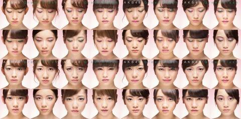 【AKB48】39th「Green Flash」カップリング別順位出たよ
