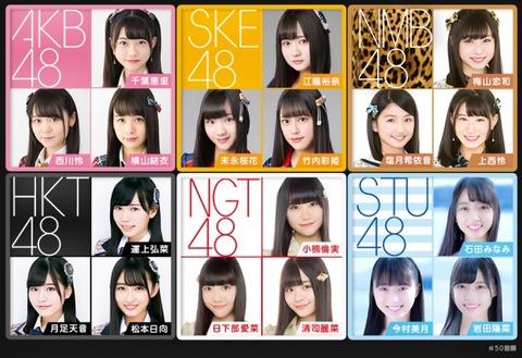 【AKB48G】今の48グループってセンター適性のあるメンバーいなくね?