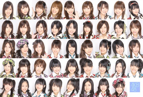 AKB48をあまり知らなかった頃の思い出