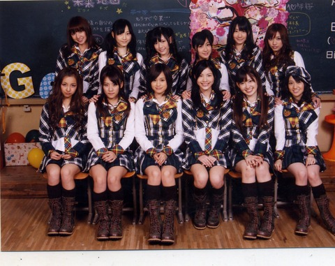 【悲報】AKB48「10年桜」発売から既に5年経過していた件