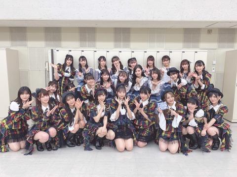 【AKB48】NHK特番「RAGAZZE!」の収録メンバーの集合写真がコチラ