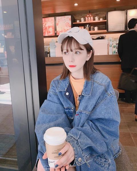 【HKT48】村重杏奈「彼女とデートなうに使っていいけどこんな可愛い彼女いないから使っても嘘ってバレるよ」