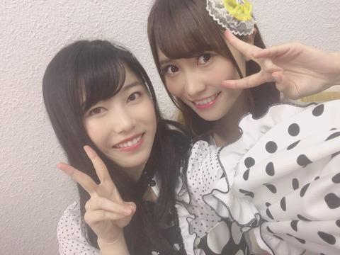 【AKB48】8期&9期ヲタには感涙のツーショット!【横山由依】
