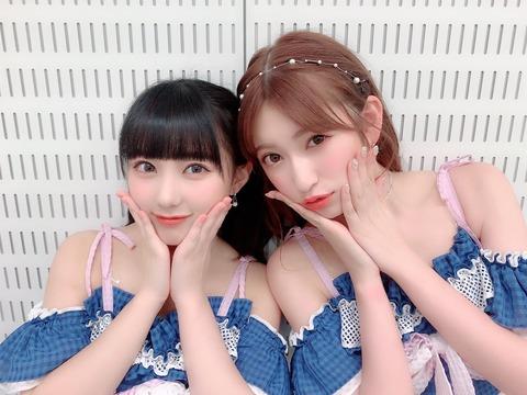 【AKB48】田中美久がAKB楽屋で誕生日祝いされてる後ろで冷めてるメンバーいるんだけどwww