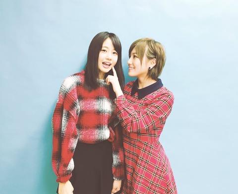 【STU48】岡田奈々が瀧野由美子をお泊りに誘っている件【なぁゆみ】