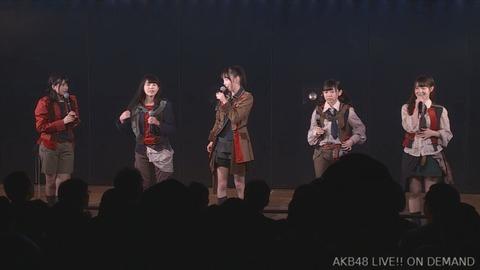 【AKB48G】劇場公演でやめて欲しい三大「MCのお題」といえば?