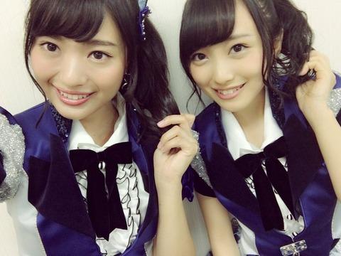 【AKB48】横山総監督、向井地美音と北原里英の顔が似ていることに気付く