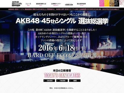 【AKB48総選挙】今年はどこで開催される思う?