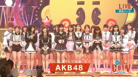 【AKB48】新センターの小栗有以が遂に見つかってしまう【CDTV】