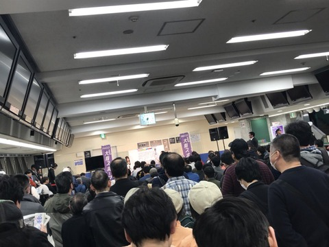 【画像】SKE48松村香織イベントに来てる客層がヤバイwwwwww
