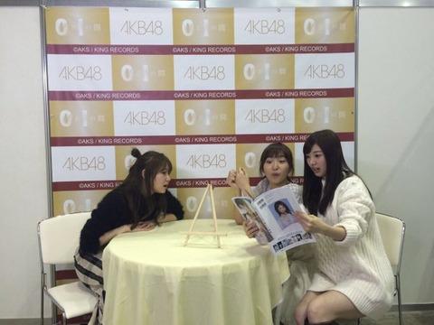 【AKB48】まりやぎの写真集を見る武藤十夢と大島涼花の表情wwwwww