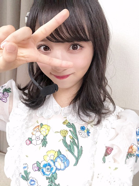 【悲報】AKB48小栗有以さん、24時間TVで映りまくったのにフォロワー増加数がまさかの100人未満・・・