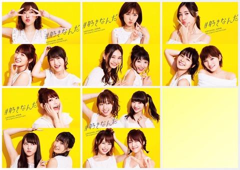 【AKB48】49th「#好きなんだ」3日目売上は14,742枚