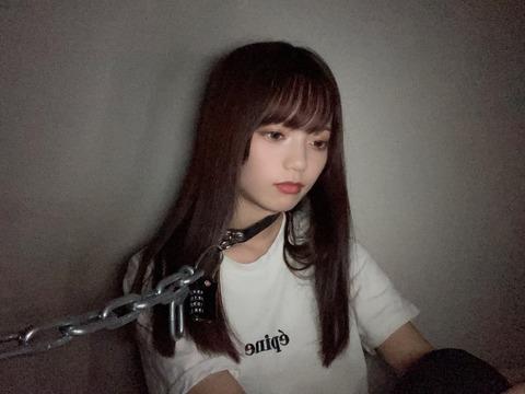 【SKE48】西満里奈さん、鎖に繋がれる