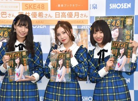 【SKE48】北川綾巴、10周年記念本でグラビア披露「見てくださるなら脱いでもいいかなと」