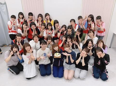 【NGT48】太野彩香「メンバーのみんなが沢山お祝いしてくれました」