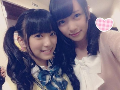 【AKB48】向井地美音ってなこみくよりチビだったんかwwwwww