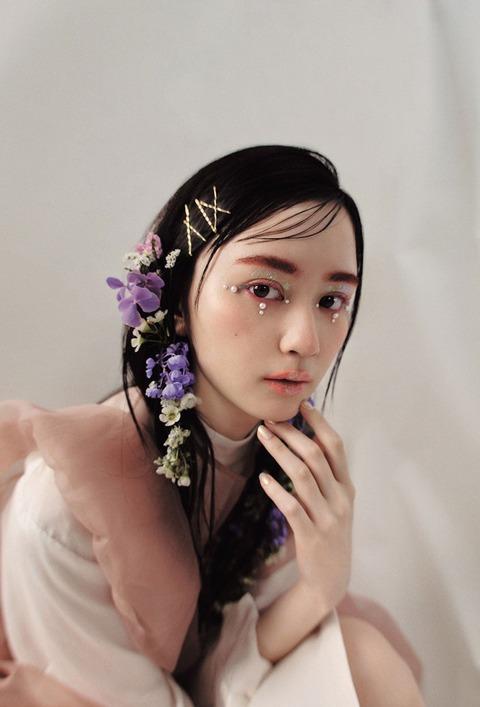 "【NMB48】""美しすぎると話題""山本望叶、ハロウィンメイクで印象ガラリ"