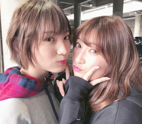【NMB48】吉田朱里と太田夢莉って可愛いのはどっちだと思う?
