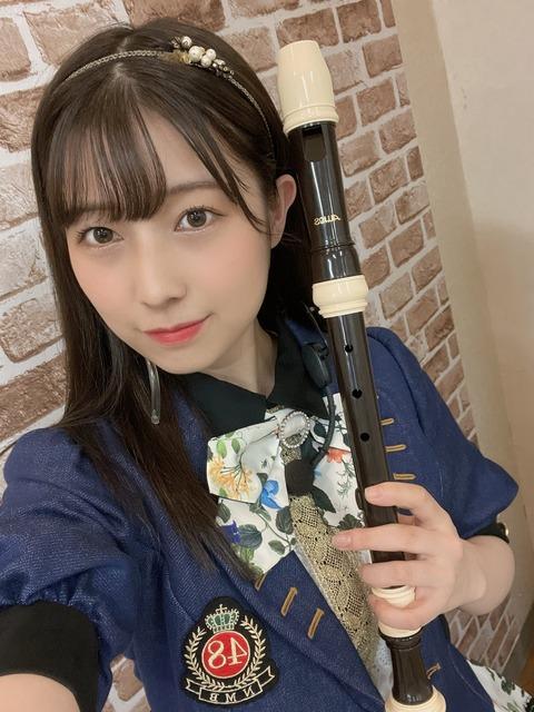 【NMB48】アンコールガールに安部若菜が登場!リコーダーを吹きながら焼き芋漫談w